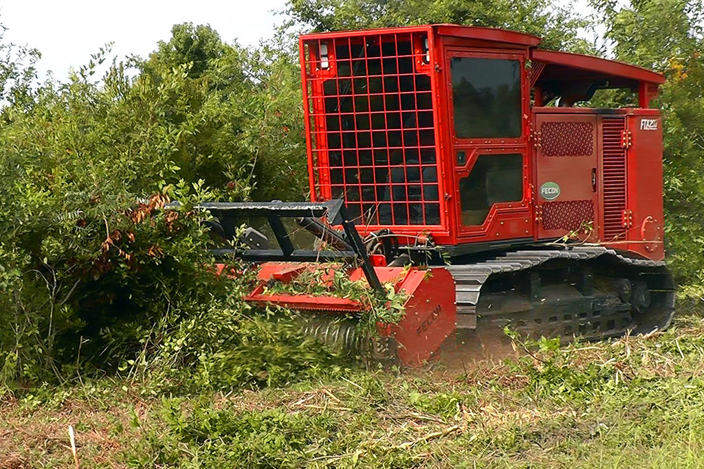 Tracked Mulching Tractors
