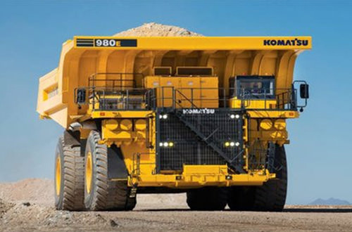 SMS Equipment Deploys Largest Komatsu Autonomous Truck Into Operations in Canada