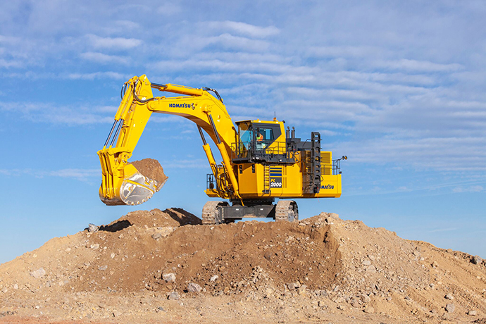 Introducing the Komatsu PC2000-11 Hydraulic Excavator