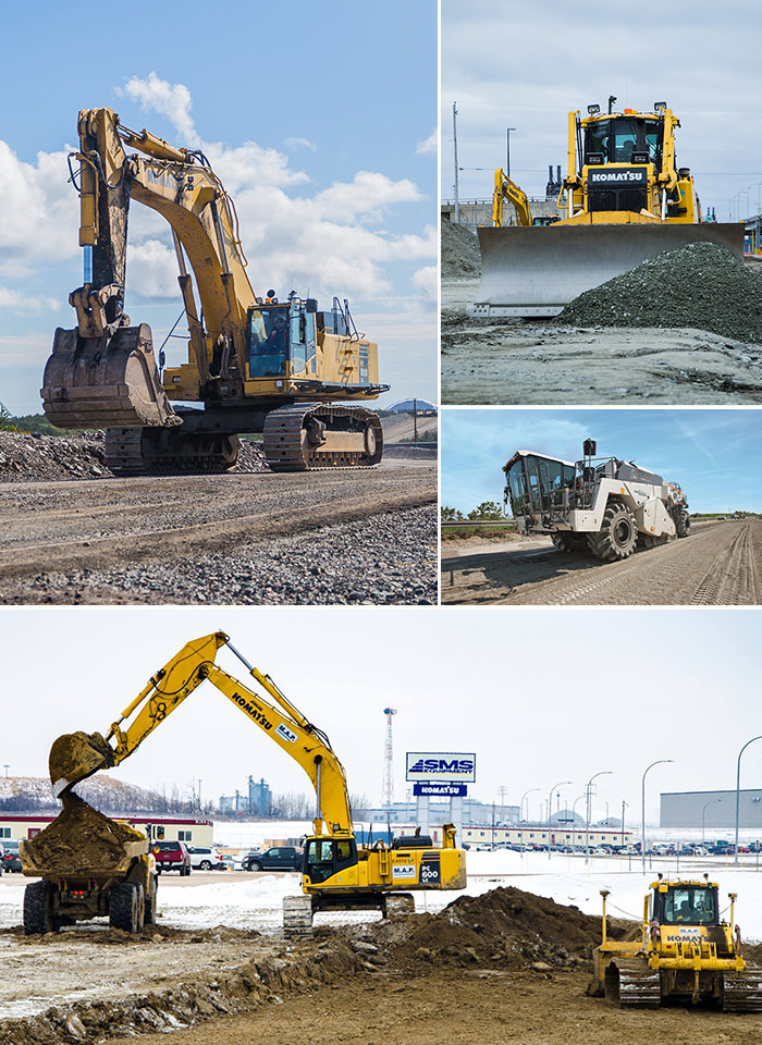 SMS Equipment takes great pride in providing field service solutions to the construction industry.