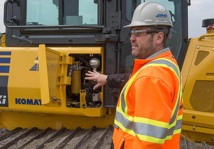 At SMS Equipment, we understand that the need for more advanced training and technical support is as important as ever.