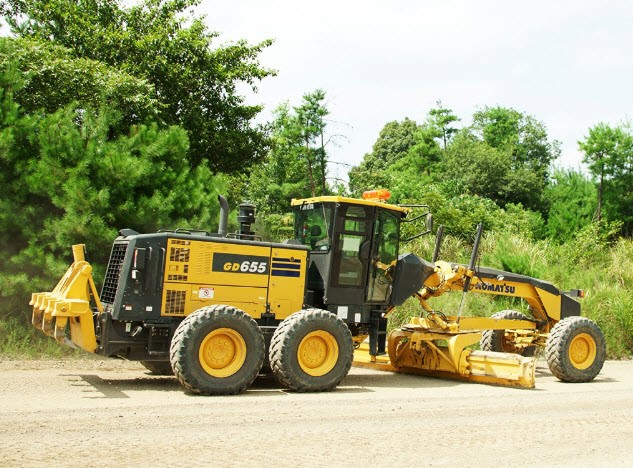 Introducing the new Komatsu GD655-7 Grader