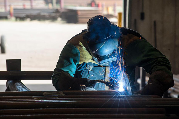 Welding is an important element in keeping industry moving and working across Canada.